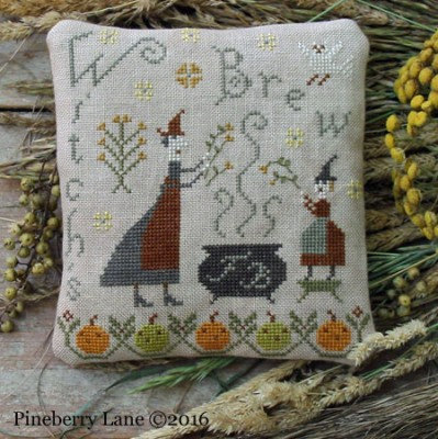 Fancey Blackett - Witch's Brew by Pineberry Lane