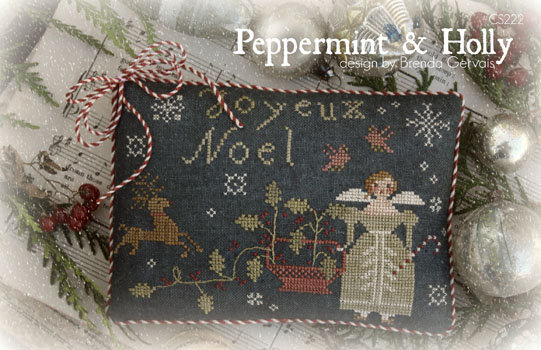 Peppermint & Holly by With Thy Needle & Thread