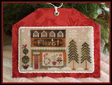 The Florist (Home Town Holiday) by Little House Needleworks/Classic Color