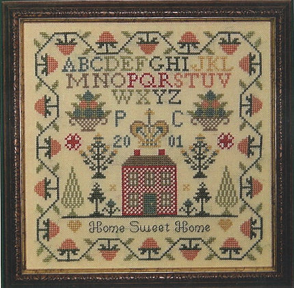 Home Sweet Home by PLC Traditional Samplers