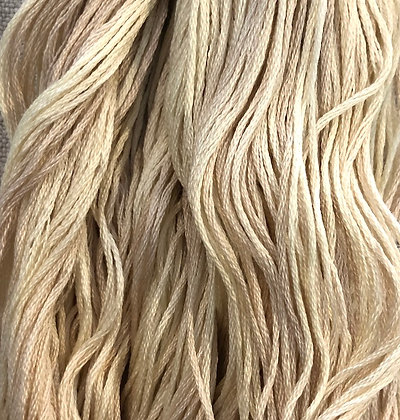 Vanilla Custard Classic Colorworks Cotton Threads 5-yard Skein