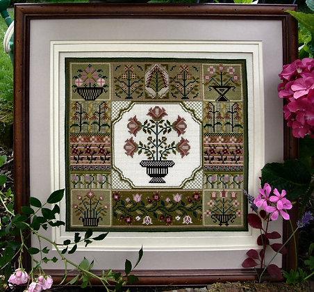 *Floral Sampler Chart by The Sampler Company/Brenda Keyes