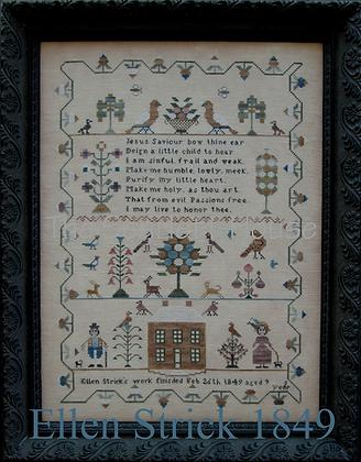 Ellen Strick 1849 by The Scarlett House