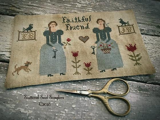 Prairie Sisters Scissor Mat by Scattered Seed Samplers