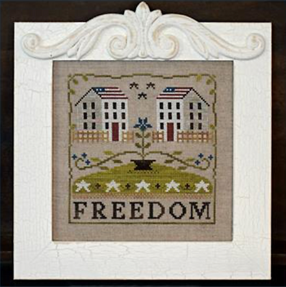 Freedom House by Little House Needleworks
