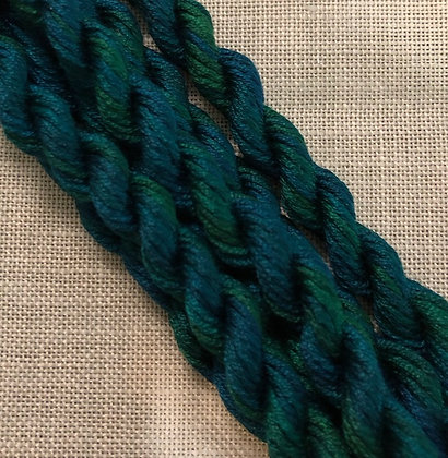 Deep Blue Sea Gloriana 12-Strand Silk 6 Yards