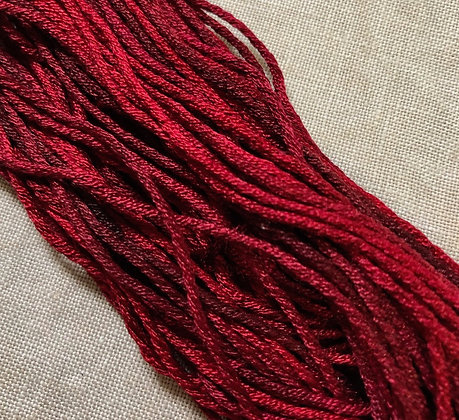 In the Burgundy Silk N Colors by The Thread Gatherer