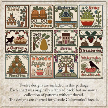 Fruit of the Seasons by Little House Needleworks