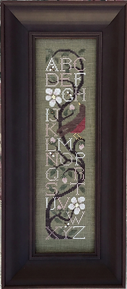 *Apple Blossom Sampler by The Drawn Thread