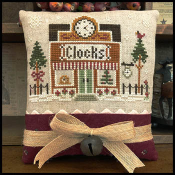 Clockmaker (Home Town Holiday) by Little House Needleworks/Clas