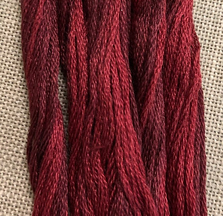Manor Red Classic Colorworks Cotton Threads 5-yard Skein