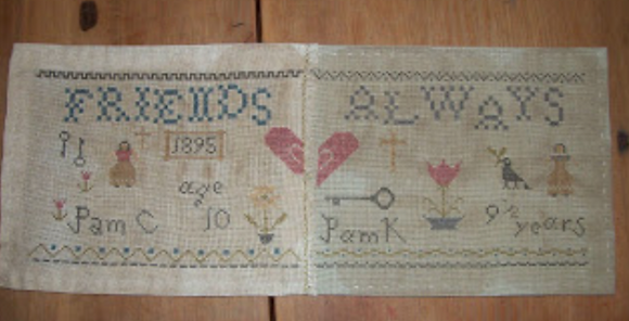 CATS Friends Sampler by Primitive Bettys