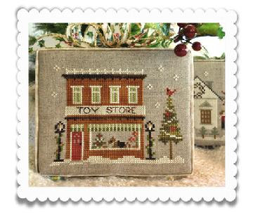 Toy Store (Home Town Holiday) by Little House Needleworks/Cl