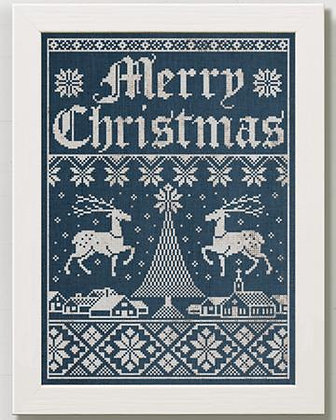 Christmas Town: A Holiday Sampler by Modern Folk Embroidery