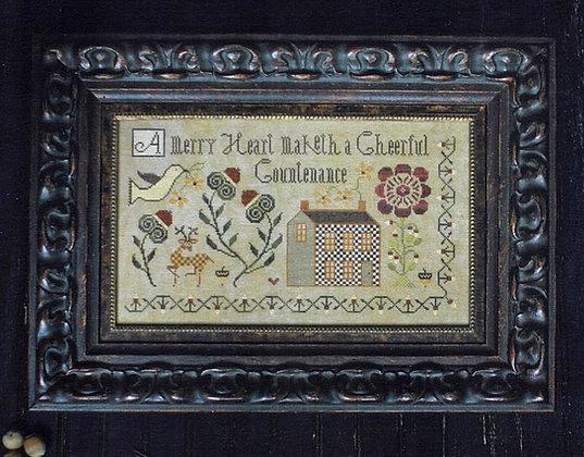 A Merry Hart by Plum Street Samplers