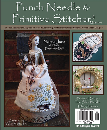 2016 Spring Punch Needle & Primitive Stitcher Magazine