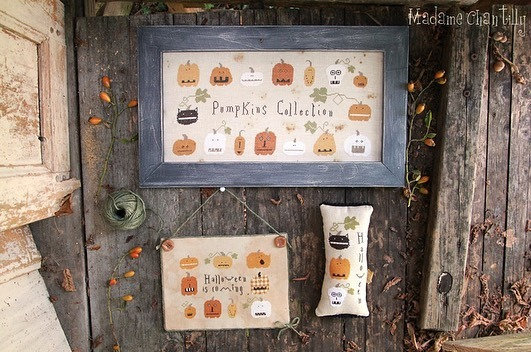 Pumpkins Collection by Madame Chantilly