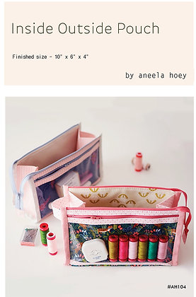 Inside Out Pouch by Aneela Hoey
