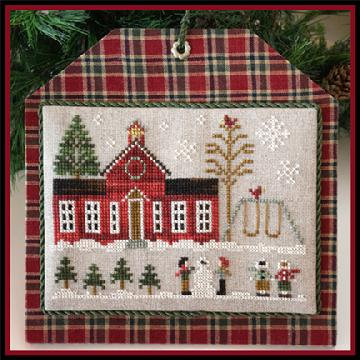 Schoolhouse (Home Town Holiday) by Little House Needleworks/Clas
