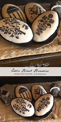 Little Black Beauties by The Primitive Hare