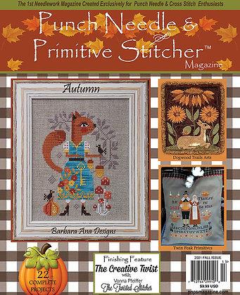 Autumn 2021 Punch Needle & Primitive Stitcher Magazine