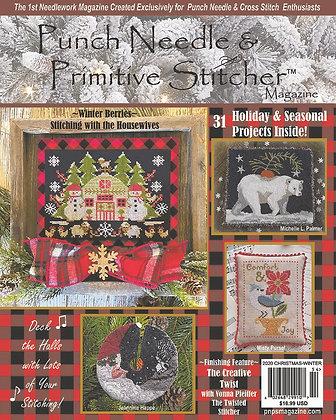 Winter/Christmas 2020 Punch Needle & Primitive Stitcher Magazine