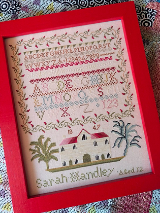 Sarah Handley 1847 by Mojo Stitches