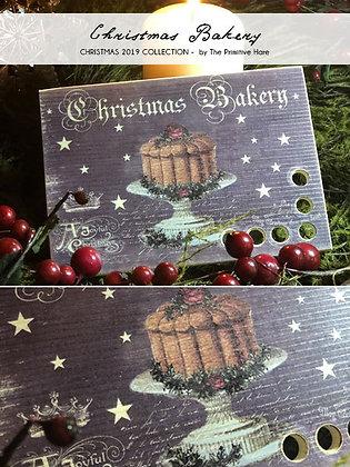 Christmas Bakery Thread Keep by The Primitive Hare