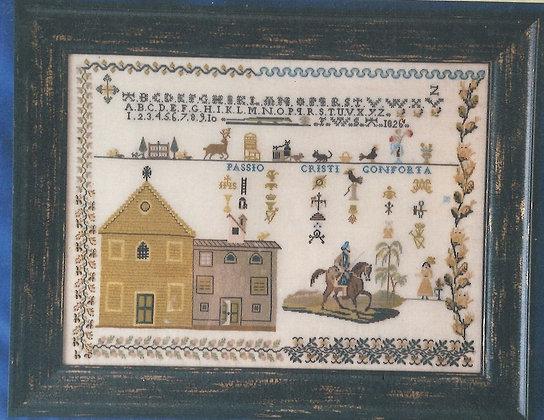 FWSA 1826 Sampler CHART by The Scarlet Letter