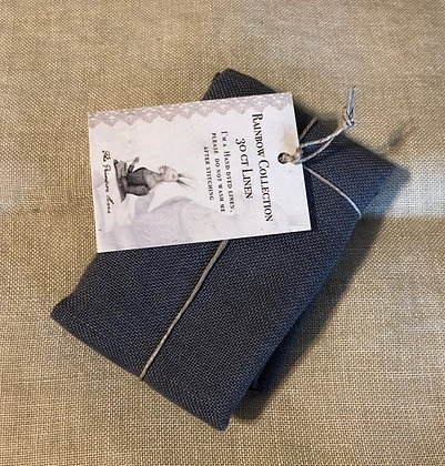 30 Count Dark Grey Linen by The Primitive Hare