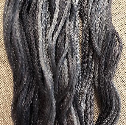 Banker's Grey Sampler Threads by The Gentle Art 5-Yard Skein