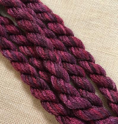 Cerise Noir Silk N Colors by The Thread Gatherer