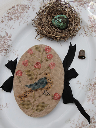 *Feathered Nest Pin Book by Stacy Nash Primitives