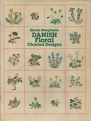 CATS Danish Floral Charted Designs (BOOK) by Gerda Bengtsson