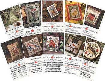 Mini Card Set C by The Prairie Schooler