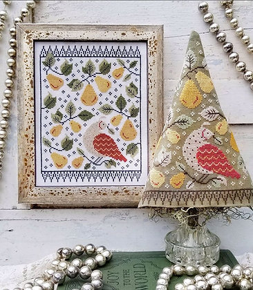 First Day of Christmas Sampler & Tree by Hello from Liz Mathews
