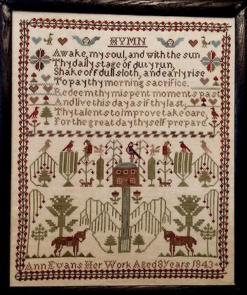 Ann Evans 1843 by Merry Wind Farm
