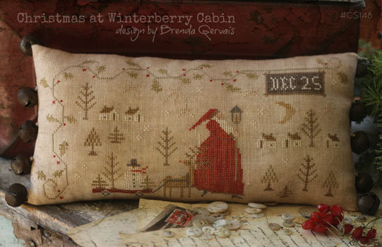 Christmas at Winterberry Cabin With Thy Needle & Thread 9