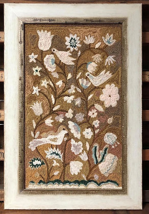 An Antique Tapestry PUNCHNEEDLE by Kathy Barrick
