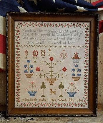 Elizabeth Baker 1844 by Pineberry Lane