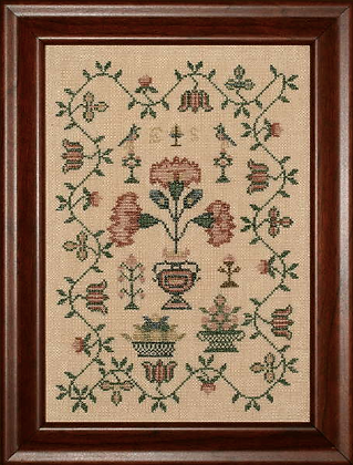 ES's Floral Sampler by With My Needle