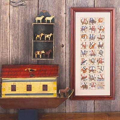 Animal Alphabet REPRINT by The Prairie Schooler