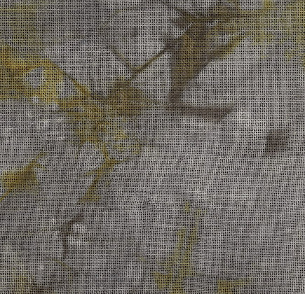 32 Count Early Halloween Fat Quarter Hand-Dyed Linen by xJudesign
