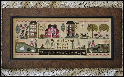Hillside Travelers by Little House Needleworks