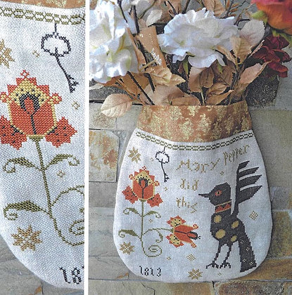 *Mary Pepper Pouch by Barbara Ana Designs