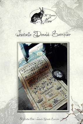 Isabella Donald Sampler by The Primitive Hare
