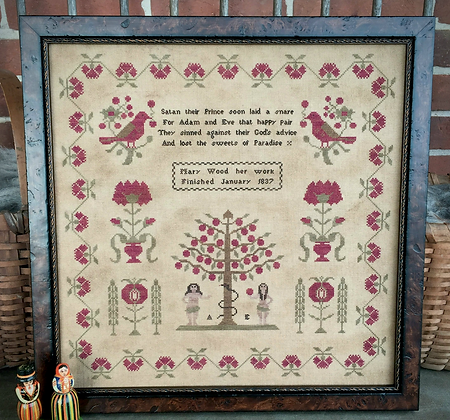 Mary Wood 1837 by Scattered Seed Samplers