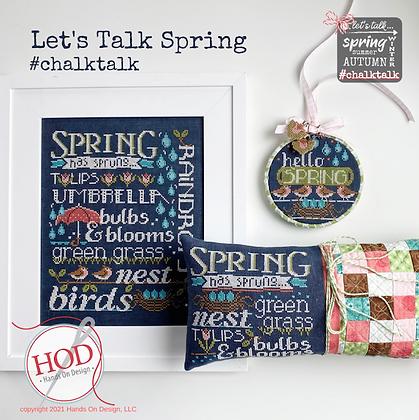 Let's Talk Spring by Hands on Design