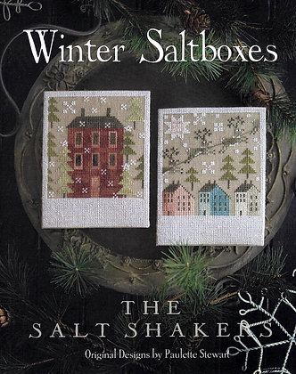 Winter Saltboxes by Plum Street Samplers