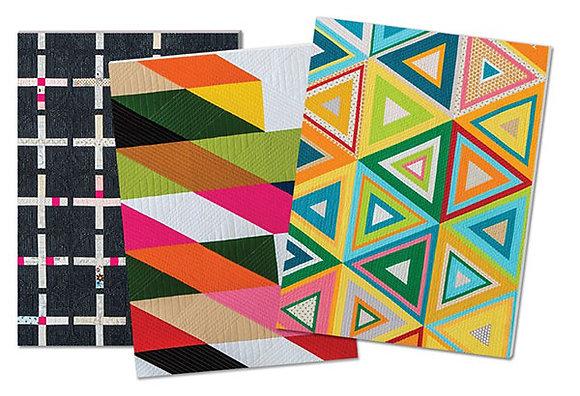 Modern Quilts Notebooks SET by Modern Quilt Guild